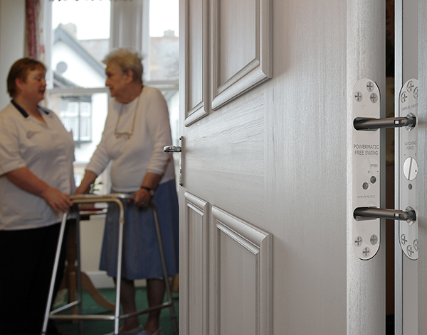 Powermatic Concealed Door Closers Create Homely Less Institutionalised Interiors Enhancing Comfort And Well-being In Care Homes And Nursing Homes