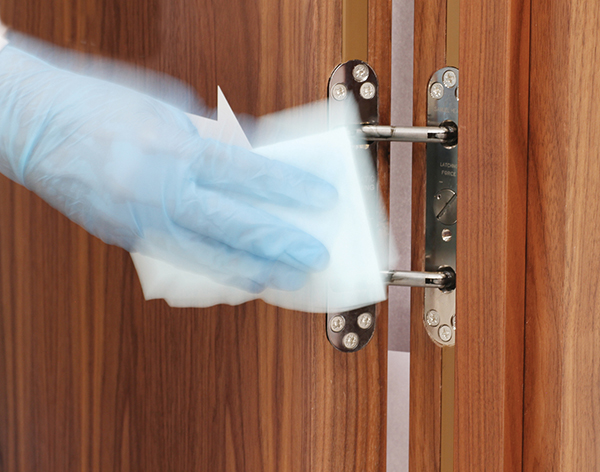Concealed Door Closers Improve Hygiene