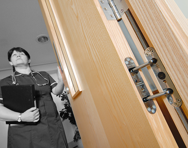 Concealed Door Closers Improve Safety At Mental Health Unit
