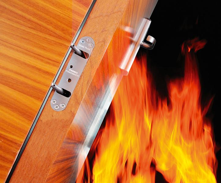 Powermatic; jamb-mounted; controlled; concealed; doorcloser; fire doors; fire door; social housing; high rise; flats; apartments; HMOs; CE marked door closer; Astra door closer; 1634-1; Certifire