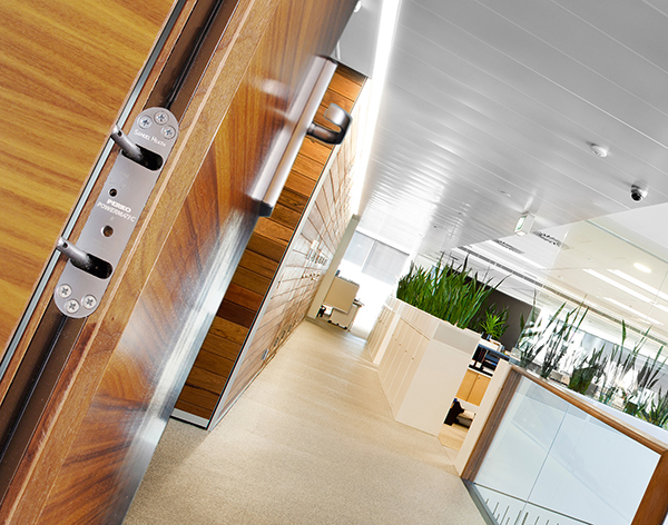 Powermatic controlled concealed door closers - the ideal door closer for offices and commercial buildings