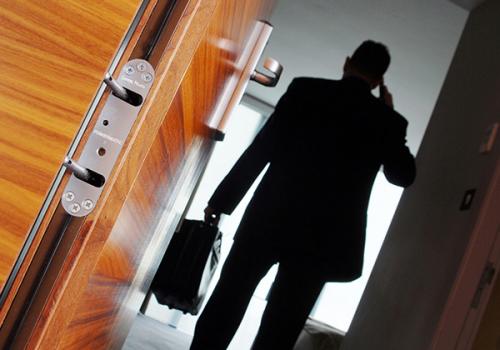 Powermatic Controlled Concealed Door Closers Enhanced Aesthetics Hotels Restaurants