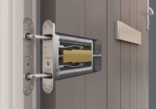 Powermatic; Jamb-mounted; Controlled; Concealed; Doorcloser; Fire Doors; Fire Door; Social Housing; High Rise; Flats; Apartments; HMOs; CE Marked Door Closer; Astra Door Closer; 1634-1; Certifire